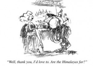 Himalayas New Yorker