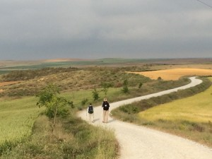 Me and Jed on the Camino 5.25.14 small